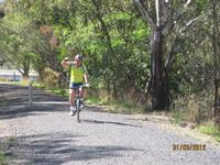 Click to view album: Rail trail weekend Mansfield to Tallarook